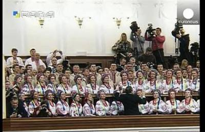 News video: Ukraine's new pro-Western parliament holds first session